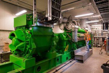 BRDF engine running on renewable natural gas